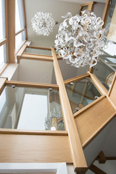 Oak framed staircase