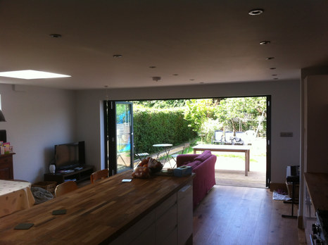 Extension and new kitchen on a beautiful Victorian building