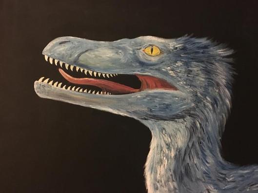 Blue Velociraptor