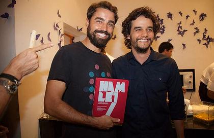 Teatro Poeirinha - Ricardo Pereira e Wagner Moura
