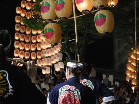 竿燈祭り☆