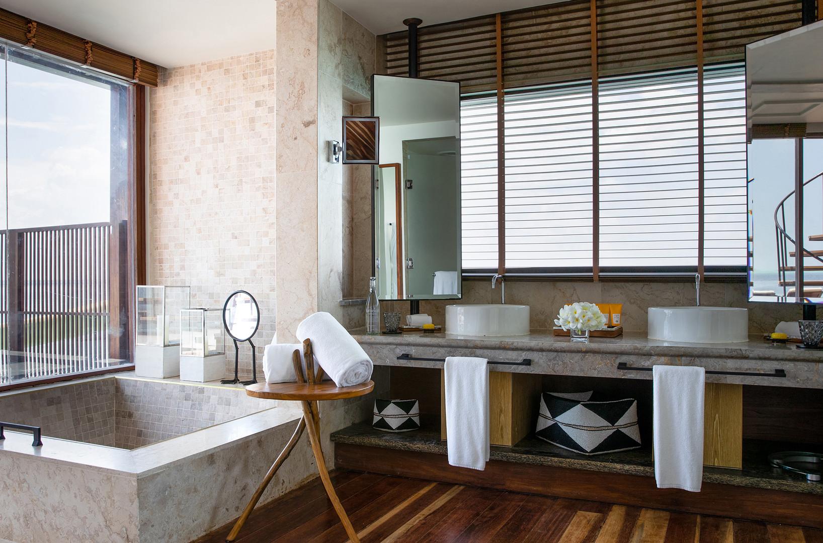 OZEN RESERVE BOLIFUSHI - Private Ocean RESERVE with Slide - Bathroom