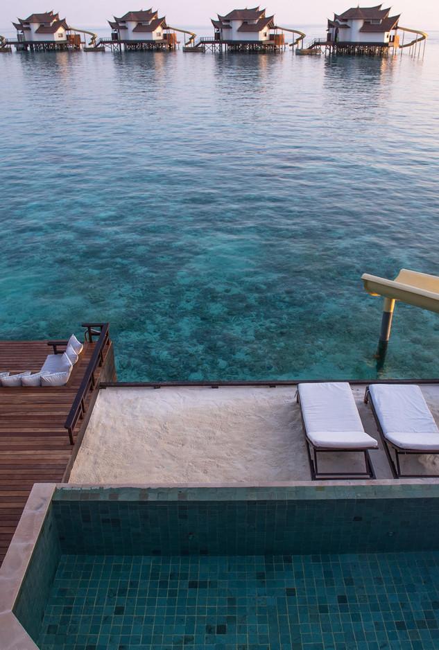 Ocean Pool  Suite with Slide