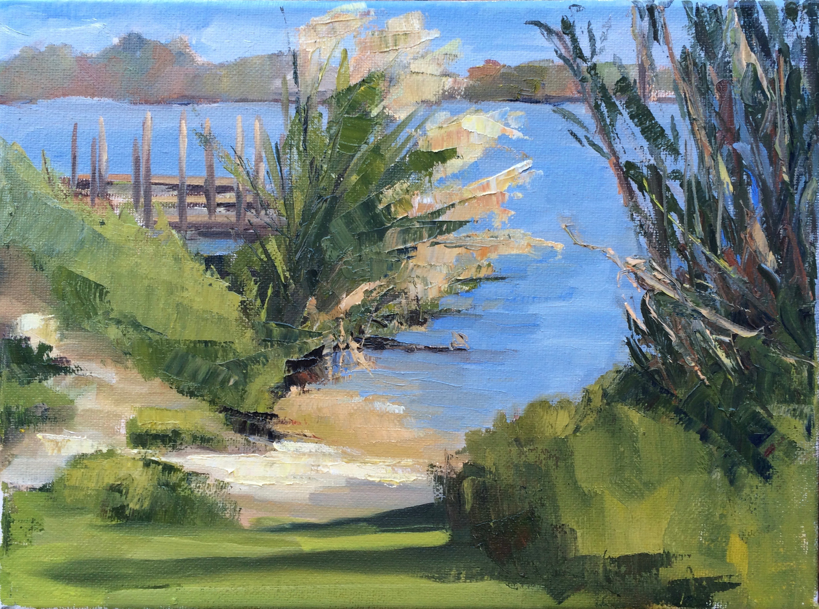 Lake Ida Park 9_x12_