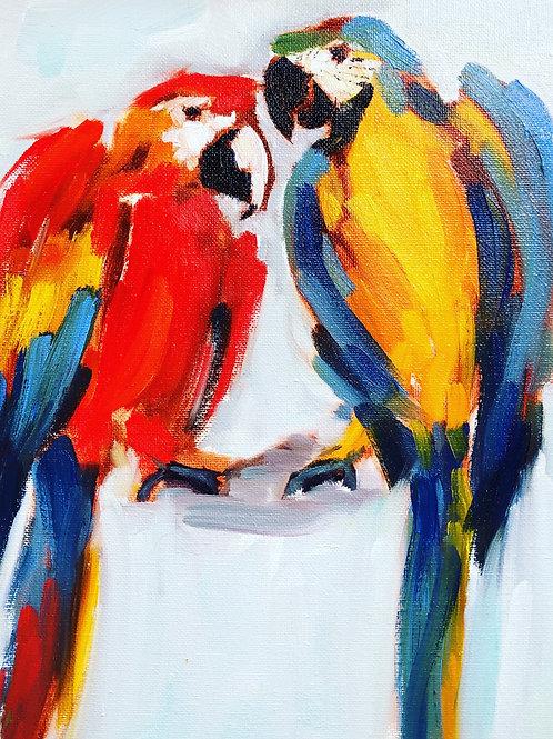 Birds Plein Air series