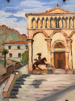 Chiesa E. Chiostro Di Sant'Agostino Via XXSettembre