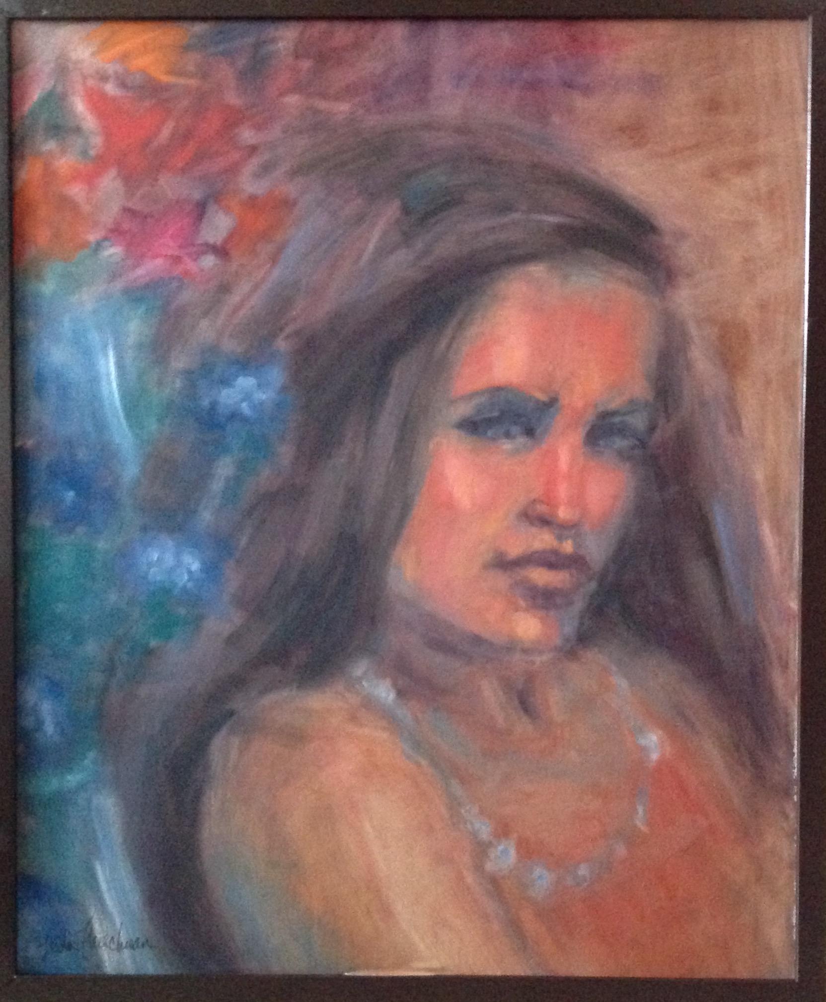 """Cleopatra oil 36h""""x30w"""""""