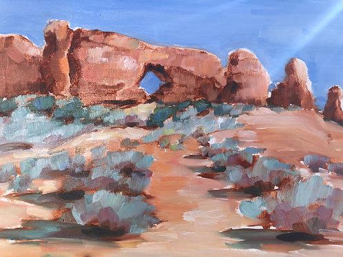 Red Rocks Plein Air Series