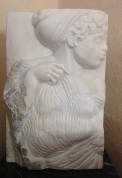 "Marble Artemis 16""h_x10""w_"