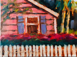 Bankers Row Pink Cottage Delray