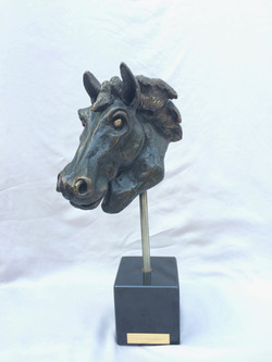 "Bronze Horsehead 3w""x7d""x6h"""