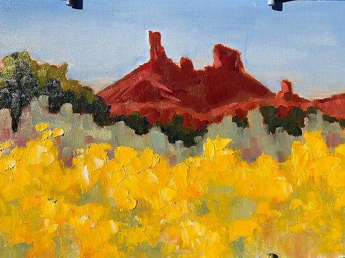 Red Rocks Plein Air Series 2