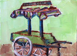 From Roehm with Love Florist Wagon