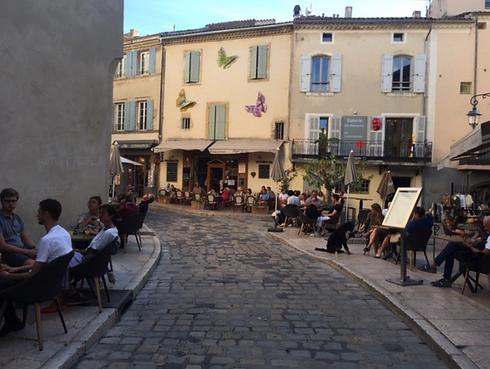Cena en Francia