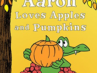 Published Book Review - Aaron Loves Apples and Pumpkins