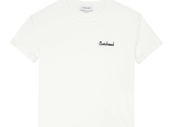 Maison Labiche T-Shirt FLOW CREW NECK OVERDRESSED