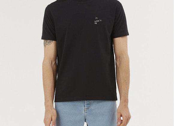 "Maison Labiche T-Shirt POPINCOURT BRODERIE ""IT WASN'T ME"""