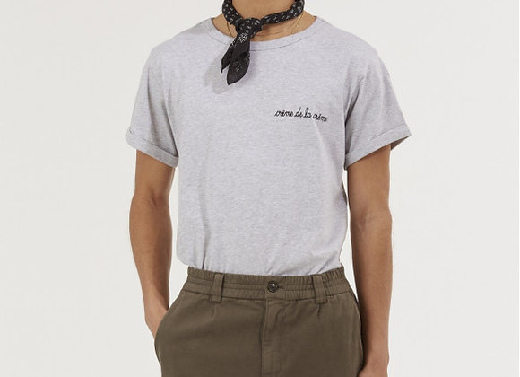 Maison Labiche T-Shirt CLASSIC TEE CREME DE LA CREME