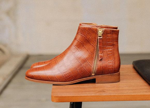 Bobbies Boots LA GROUPIE Cognac