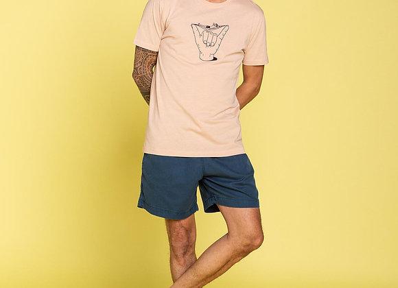 HANG LOOSE Pink T-Shirt