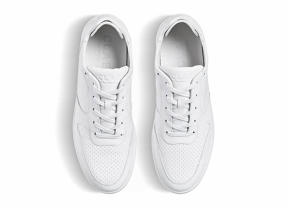 Clae Sneakers MALONE White Leather