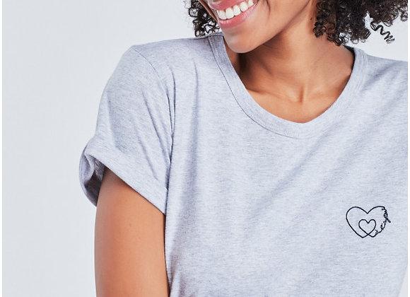 Maison Labiche T-Shirt A L'INFINI Gris Chiné