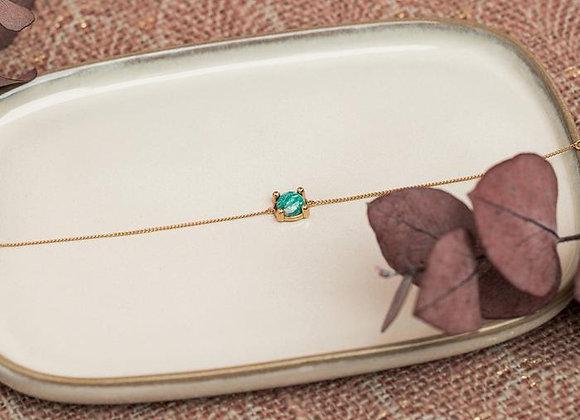 Feeka Bracelet BARBARA Or Amazonite