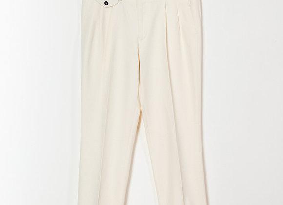 PALMAS Off White Pantalon