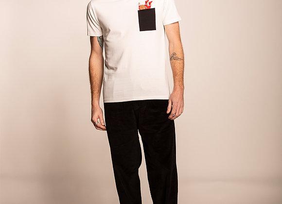 Olow T-Shirt COIN COIN Ecru