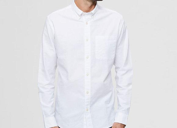 RICK OXFORD SHIRT Coton Bio White