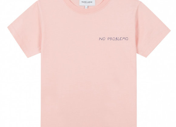 Maison Labiche T-Shirt CREW NECK TEE NO PROBLEMO