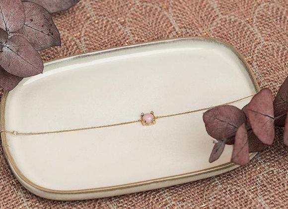 Feeka Bracelet BARBARA Or Opale Rose
