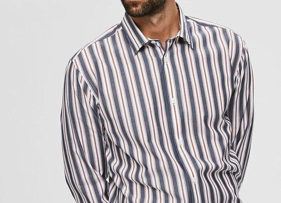 GREGOR Chemise Blue Stripes