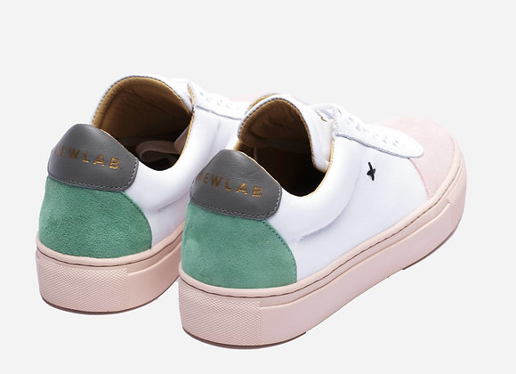 NL06 White/Nude Sneakers