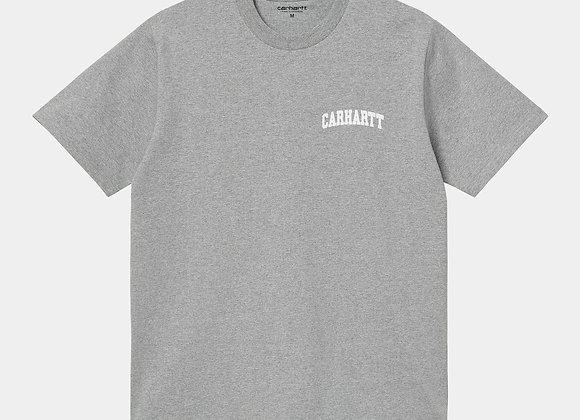 UNIVERSITY SCRIPT T-Shirt Grey Heather