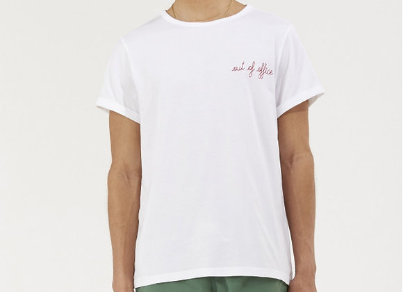 """Maison Labiche T-Shirt CLASSIC TEE """"OUT OF OFFICE"""""""