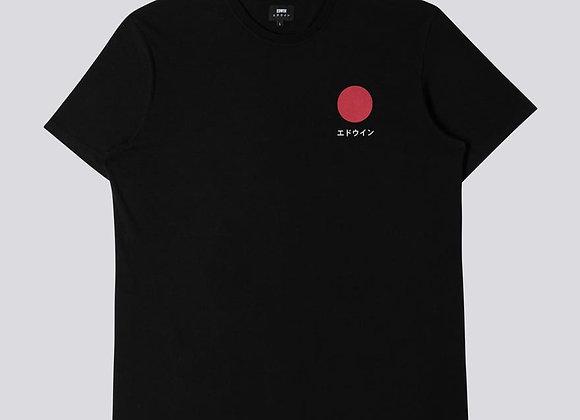 EDWIN T-Shirt JAPANESE SUN Black