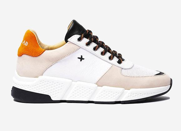 COOPER Beige/Orange Sneakers