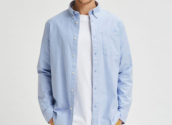 RICK OXFORD SHIRT Coton Bio Light Blue