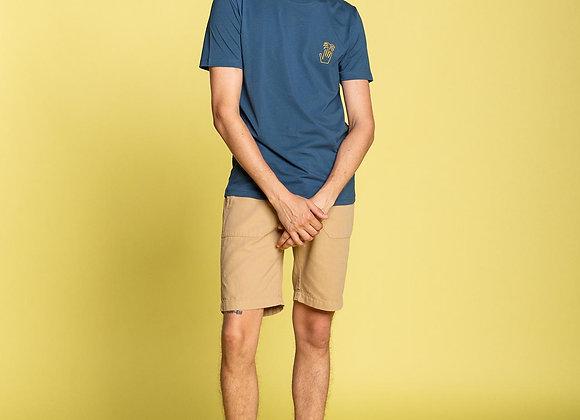PALM HAND Prussian Blue T-Shirt