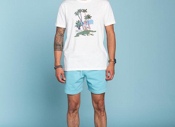ALIGATOR Off White T-Shirt