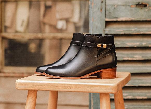 Bobbies Boots L'ILLUSTRATRICE Noir
