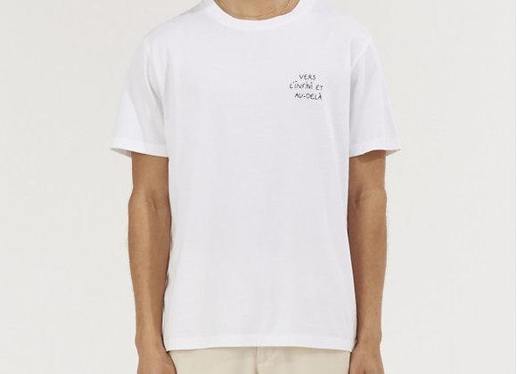 """Maison Labiche T-Shirt POPINCOURT BRODERIE """"VERS L'INFINI ET AU DELÀ"""""""