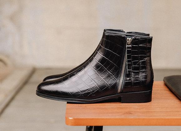 Bobbies Boots LA GROUPIE Noir