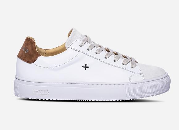Newlab Sneakers NL08 White/Brown