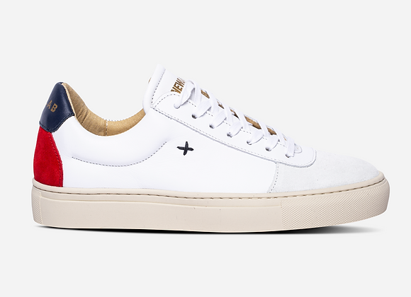Newlab Sneakers NL06 White/Red Navy