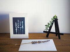 Mini gift set with easel and blank card | ART x EARTH