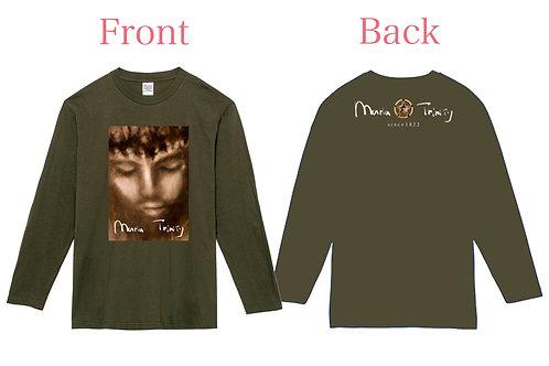 ロングTシャツ(絵デザイン&背面デザイン)