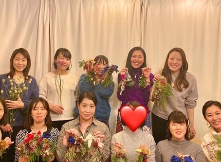 終了レポート☆ 共同創造ワークショップ『 Christmas Swag 』
