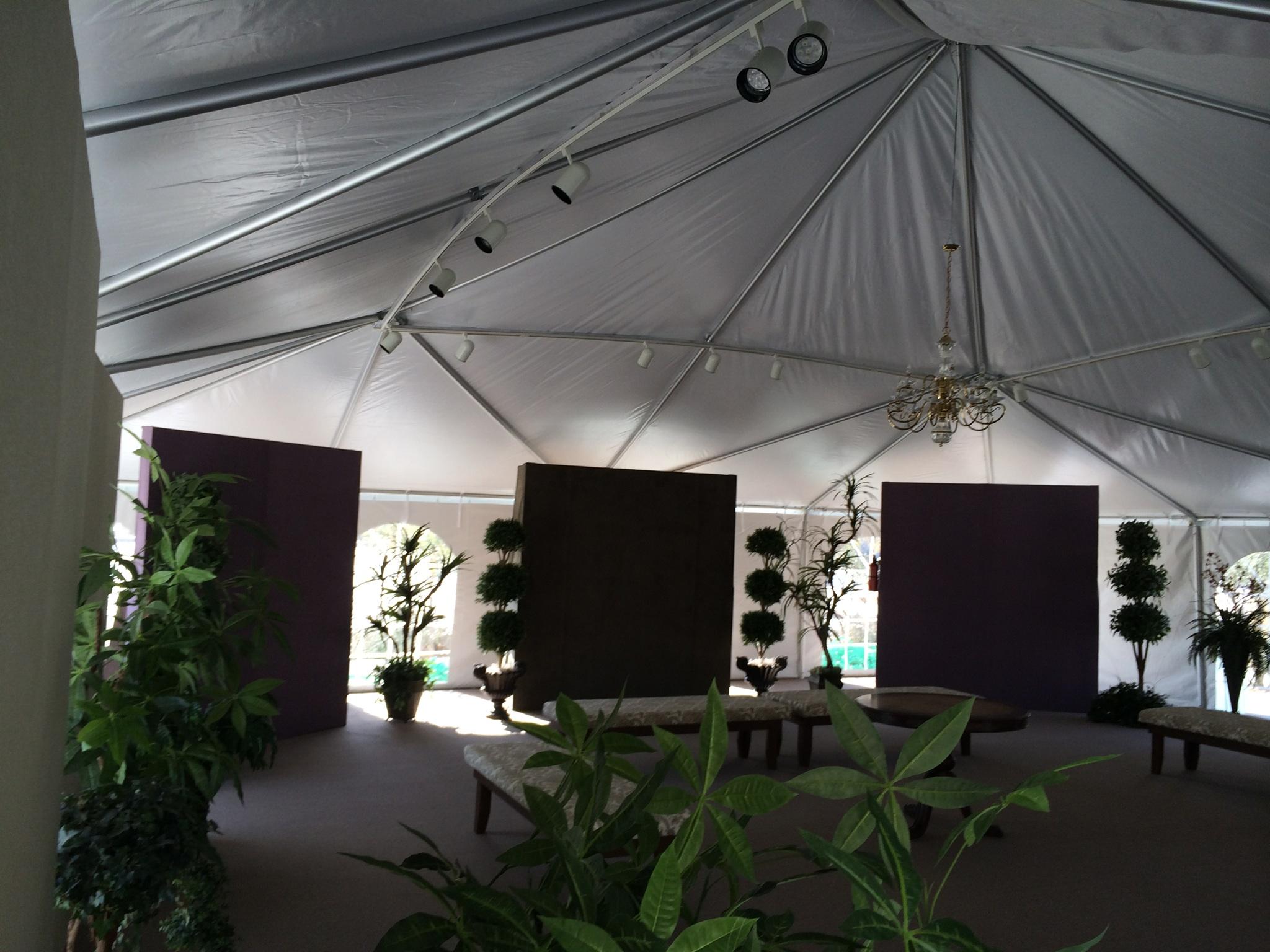 40 x 40 Tent